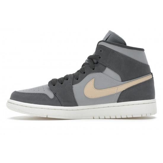 Air Jordan 1 Mid Grey Onyx
