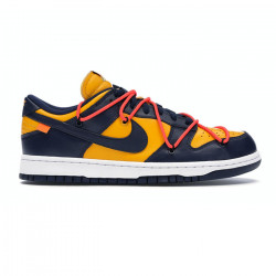 Nike Dunk Low Off-White University Gold